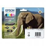 Multipack inkjet originale Epson n. 24 nero e colori