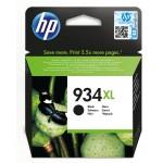 HP 934XL - cartuccia inkjet originale - alta capacità - colore nero  - cod. C2P23AE