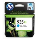 HP 935XL - cartuccia inkjet originale - alta capacità - colore ciano  - cod. C2P24AE