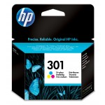 HP 301 - Cartuccia inkjet originale - 3 colori  - cod. CH562EE