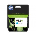 HP 953XL - cartuccia inkjet originale - alta capacità - colore ciano  - cod. F6U16AE