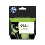 HP 953XL - cartuccia inkjet originale - alta capacità - colore giallo  - cod. F6U18AE