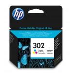 HP 302 - cartuccia inkjet originale - 3 colori  - cod. F6U65AE