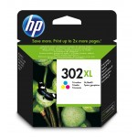 HP 302XL - Cartuccia inkjet originale - 3 colori  - cod. F6U67AE