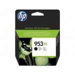 HP 953XL - cartuccia inkjet originale - alta capacità - colore nero  - cod. L0S70AE