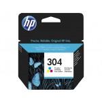 HP 304 - cartuccia inkjet originale - 3 colori  - cod. N9K05AE