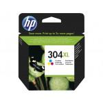 HP 304XL - cartuccia inkjet originale - alta capacità - 3 colori  - cod. N9K07AE