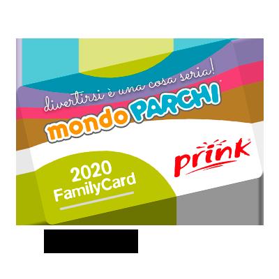 ingresso gratuito parchi convenzionati circuito Mondoparchi img FamilyCard