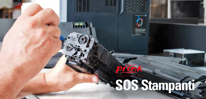 assistenza stampanti inkjet e laser da Prink