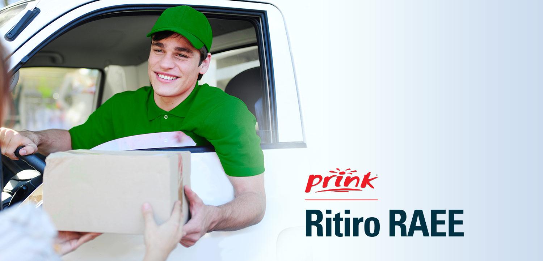 ritiro rifiuti Elettrici ed Elettronici con Prink